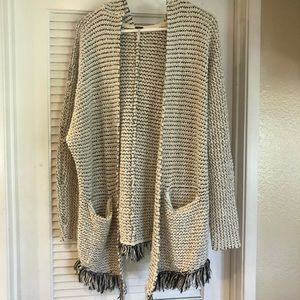 Free People sweater cardigan